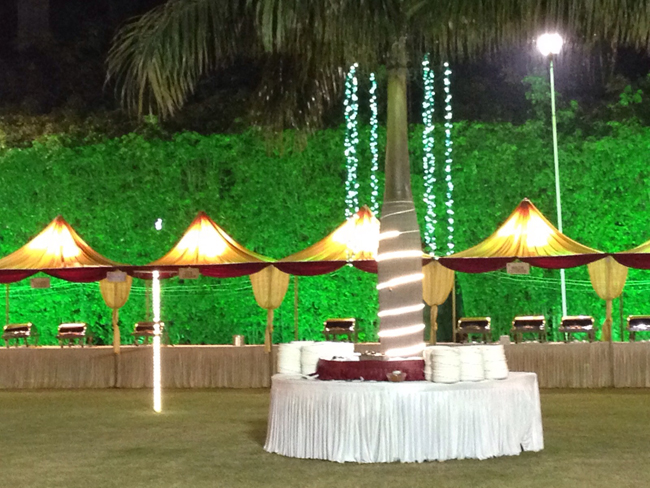 The mark hotel club event wedding marrige garden the royal lawn junglespirit Image collections